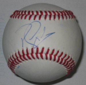Randy Winn Signed Trump Signature Series Baseball