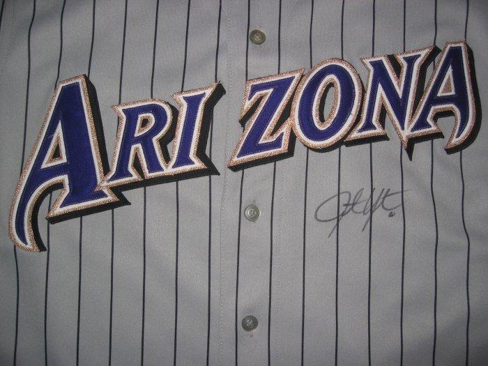 Justin Upton Signed Authentic Arizona Diamondbacks Jersey (GAI)