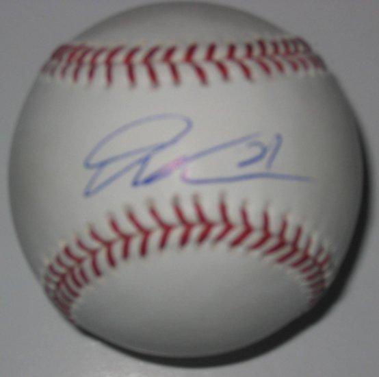 Dontrelle Willis Signed Official Major League Baseball (PSA/DNA)