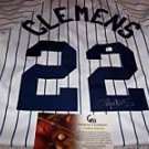 Roger Clemens Signed Yankees Majestic Jersey (GAI)