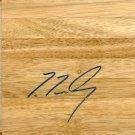 JAMAAL TINSLEY signed autographed 6x6 floorboard