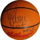 David Robinson Signed Kelloggs Basketball (GAI)