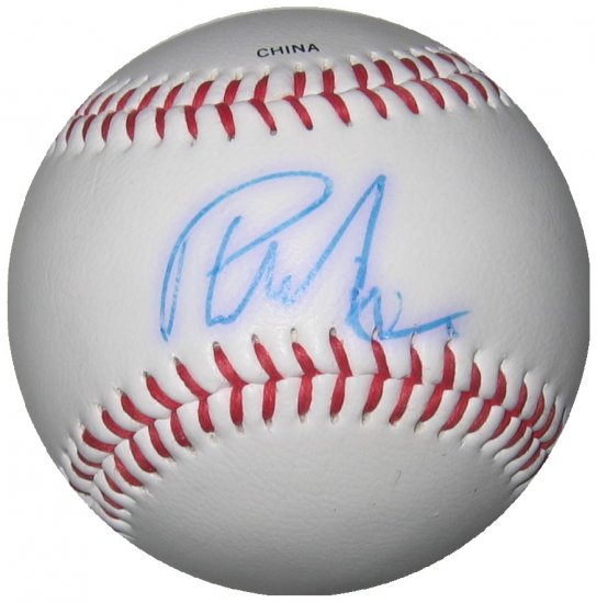 Phil Nevin Autographed Official League Baseball
