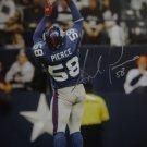 Antonio Pierce Signed Giants 16x20 Photo (Elite)