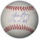 Jason Bay Signed Official Major League Baseball with 04 ROY Inscrip. (Tristar & MLB)