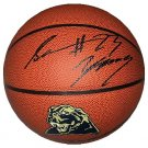 Sam Young Signed Pittsburgh Panthers Basketball