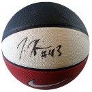 Jordan Hill Signed Nike Basketball - New York Knicks