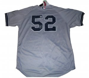 C.C.Sabathia Signed Authentic New York Yankee Inaugural Season Jersey (JSA)