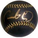 Fausto Carmona Signed Official Black Major League Baseball (ELITE)