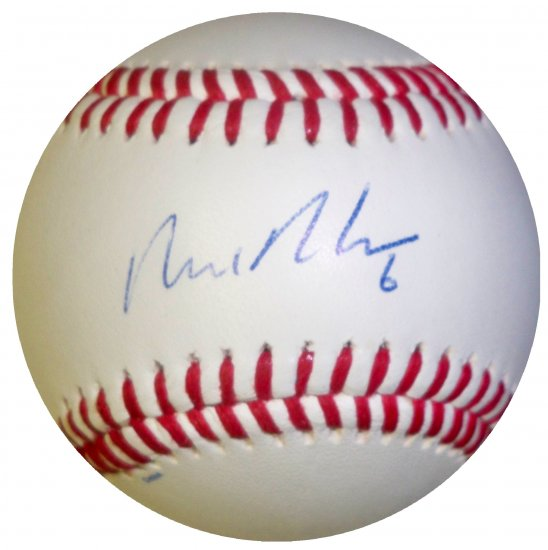 Nick Evans Signed Trump Signature Series Baseball