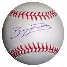 Brandon Wood Signed Official Major League Baseball (Just Minors)