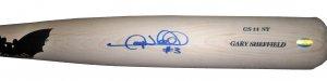 Gary Sheffield Signed Game Issued Bat (JSA)