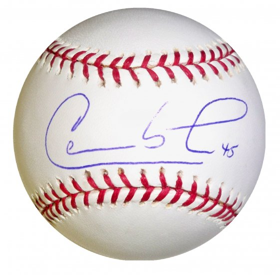 Carlos Lee Signed Official Major League Baseball (Tristar)