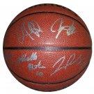 2010 Atlanta Hawks Full Team Signed Basketball