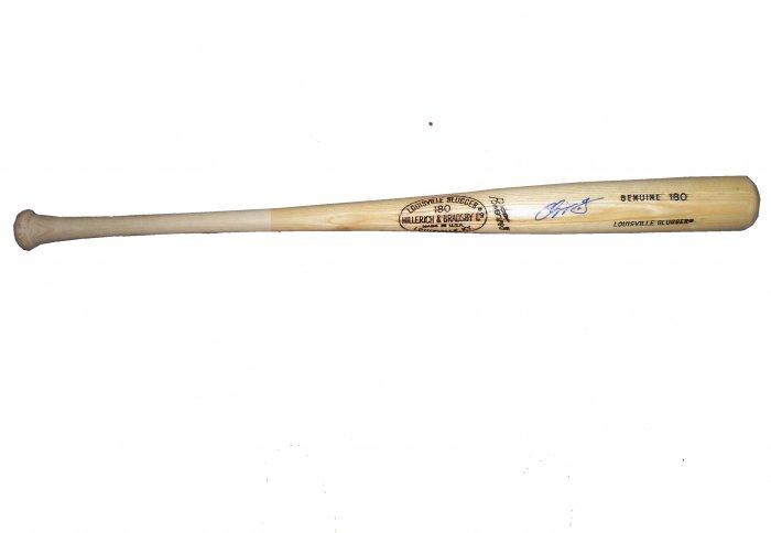 Chipper Jones Signed Bat (PSA/DNA)