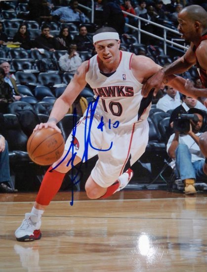 Mike Bibby Signed 8x10 Photo