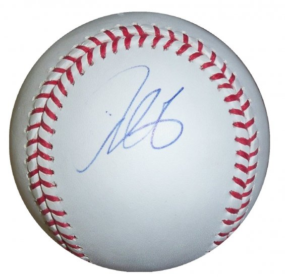 Derek Lee Signed Official Major league Baseball