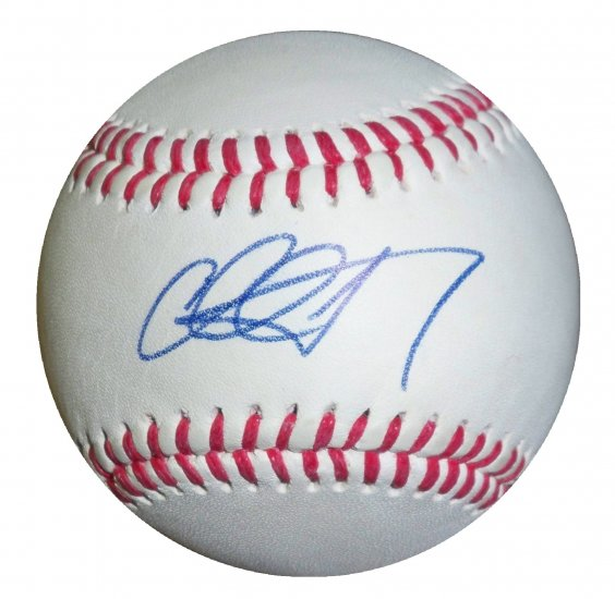 Chad Tracey Signed tump Signature Series Baseball