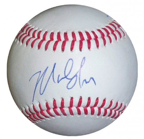 Marlon Byrd Signed trump signature Series Baseball