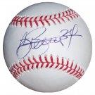 A.J. Burnett Signed Official Major League Baseball (JSA)