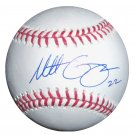 Matt Garza Signed Official Major League Baseball (GAI)