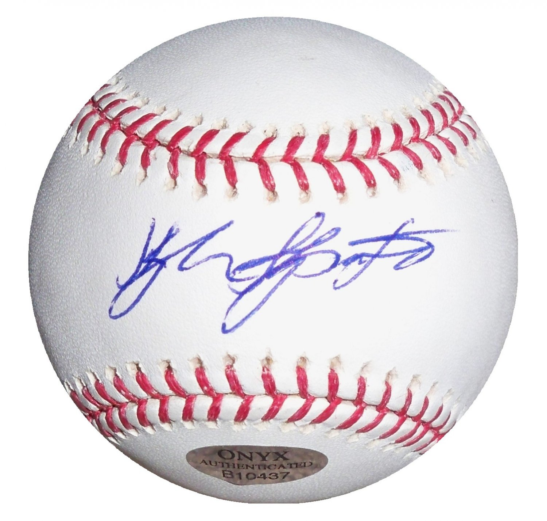 Kyle Skipworth Signed Official Major League Baseball (ONYX)