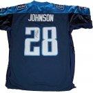 Chris Johnson Signed Titans Jersey (JSA)