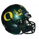 Lamichael James Signed Oregon Mini Helmet (JSA)