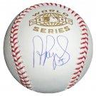Albert Pujols Signed 06 World Series Baseball (Pujols & MLB COA)