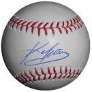 Kevin Youkilis Signed Official Major League Baseball (PSA/DNA)