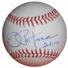 Joe Pepitone Signed Official Major League Baseball (JSA)