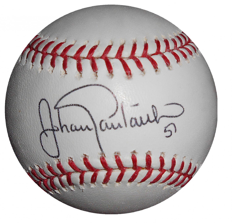 Johan Santana Signed Official Major League Baseball (PSA/DNA)