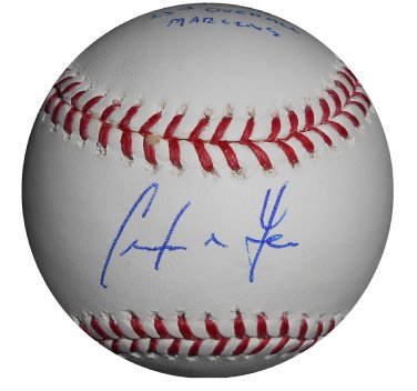 Christian Yelich Signed Official Major League Baseball PSA/DNA