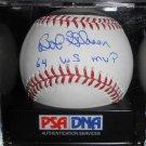 Bob Gibson Signed Official Major League Baseball (PSA/DNA)
