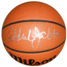 Kareem Abdul Jabbar Lakers Signed Basketball (PSA/DNA)