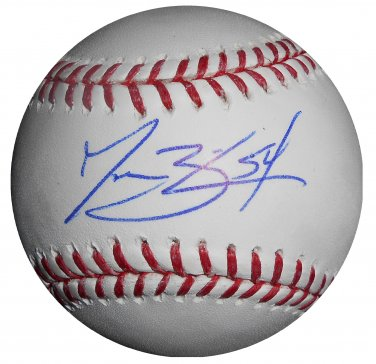Jessie Biddle Signed Official Major League Baseball (MLB HOLO)