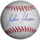 Julio Teheran Signed Official Major League Baseball (MLB HOLO)