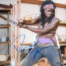 Danai Gurira Signed Michonne Walking Dead 8x10 Photo
