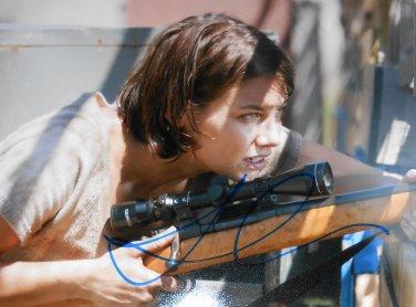 Lauren Cohan Signed Maggie Walking Dead 8x10 Photo