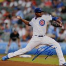 Edwin Jackson Cubs Signed 8x10 Photo