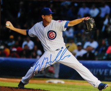 Kyle Hendricks Cubs Signed 8x10 Photo