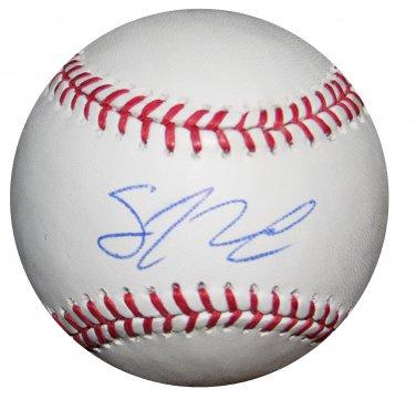 Sean Newcomb Signed Official Major League Baseball