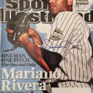 Mariano Rivera Signed Sports Illustrated (Steiner Sports COA)
