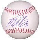 Matt Harvey Signed Mets Official Major League Baseball (Steiner Sports)