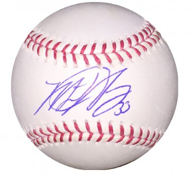Matt Harvey Signed Mets Official Major League Baseball (Steiner Sports)