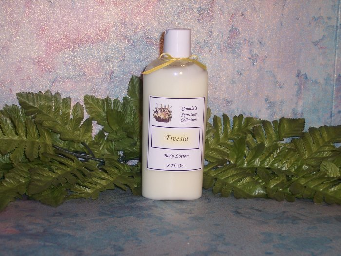 8 OZ SILKY BODY LOTION    Many Scents Available