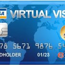 VISA VCC Virtual Credit Card for PayPal Verification with $2 balance FREE Delivery Worldwide