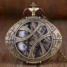 Dr Doctor STRANGE Eye of Agamotto Amulet Pocket Watch Pendant Necklace Christmas Gift