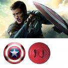 New Captain America Shield Steve Rogers Cosplay Metal Prop Avengers Endgame