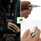 2021 Netflix Shadow and Bone Darkling General Kirigan Dark Ring Prop Cosplay Gift Size 6/7/8